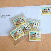 Eine Briefmarke zum Jubiläum