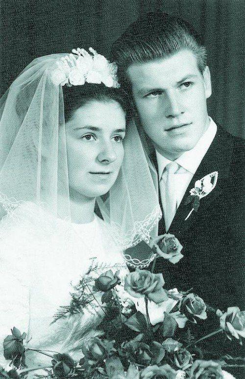 1964 gab sich das Paar in der Herz-Jesu-Kirche das Jawort.