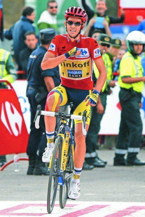 Alberto Contador: Solosieg bei der Vuelta. Foto: apa