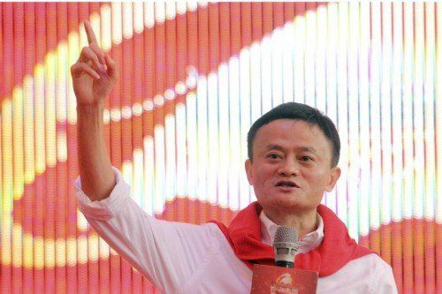 Alibaba-Gründer und Amazon-Konkurrent Jack Ma.  Foto: AP