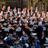 Großer Auftritt für die Simma-Musikerschar