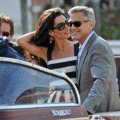 Clooney wird am Montag in Venedig heiraten