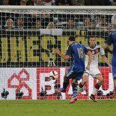 Argentinien revanchiert sich bei Weltmeister Deutschland