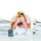 Stress im Arbeitsalltag wird zum Dauerthema