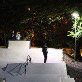 Dem Skaterplatz ging ein Licht auf