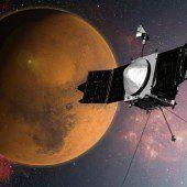 NASA-Sonde Maven hat den Mars erreicht