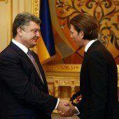 Kurz trifft Poroschenko zu Gespräch in Kiew