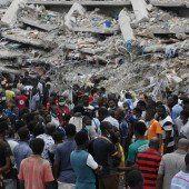 Gebäude in Nigeria eingestürzt: 40 Tote