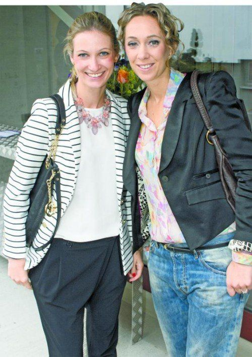 Bettina Kaljo (l.) und Kate Hepberger (Massive Art).  Fotos: Franc
