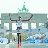 Weltrekord von Dennis Kimetto im Marathon