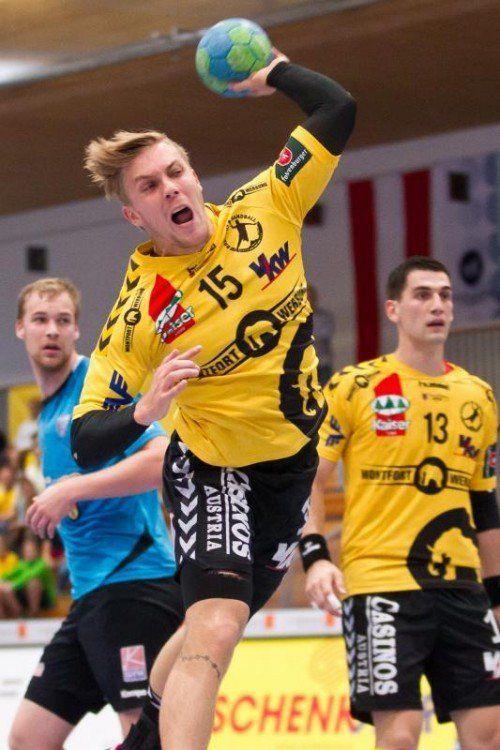 Nach seiner Verletzungspause wurde Flügelflitzer Marian Klopcic rechtzeitig fit für das Saisonfinale. Foto: steurer