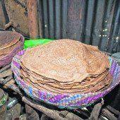 Injera: Bei jedem Essen mit dabei