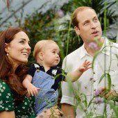 Prinz William und Kate erwarten zweites Kind