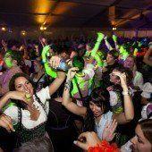 Drei-Schwestern-Clubbing in Frastanz