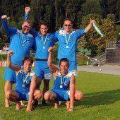 Drei Vizemeistertitel für die Ländle-Klubs
