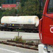 Säure-Alarm in Dalaas: Arlbergstrecke gesperrt