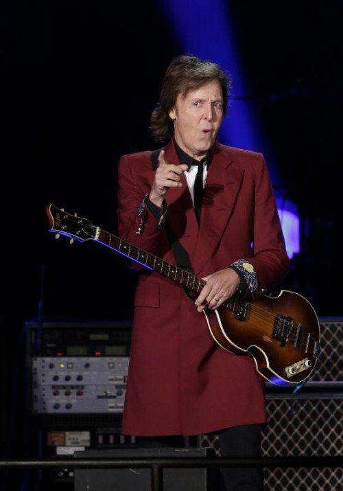 """Der Ex-""""Beatle"""" wünscht sich einen """"Meat Free Monday"""". AP"""