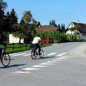 Mehr Sicherheit auf den Straßen in Lustenau
