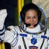 Nach 17 Jahren wieder Russin im Weltall