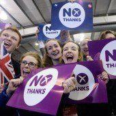 Die Schotten bleiben Briten