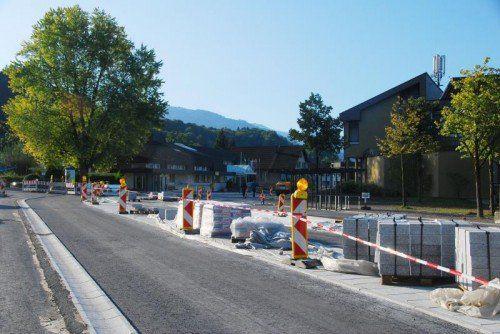 Die Bauarbeiten neigen sich dem Ende zu. foto: hapf