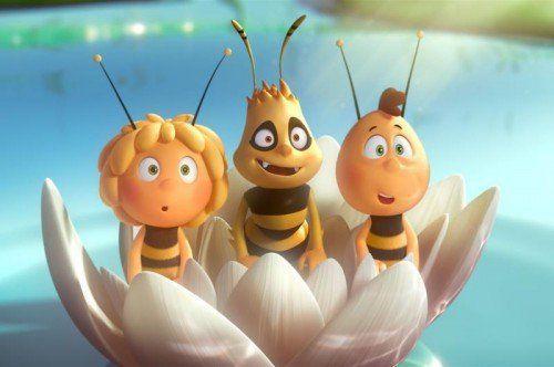 Die Biene Maja kommt erstmals in 3D auf die Leinwand. Constantin Film