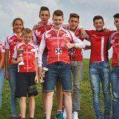 Silbermedaille für Dornbirner Biker