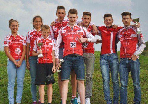 Die Biker des RV Dornbirn wurden Zweite in der Vereinswertung des Austria-Youngsters-Cups. Foto: privat