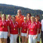 Teamtitel im Golf an Montafon und Rankweil