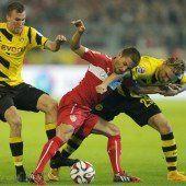 Kriselndem VfB gelingt erster Schritt aus Krise