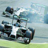 Hamilton nützt Rosbergs Fehler