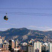 La Paz baut Seilbahnnetz aus