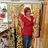 Recycling-Kunst bei der Offenen Jugendarbeit