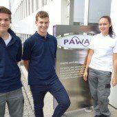 Neue Lehrlinge in der RattPack Gruppe