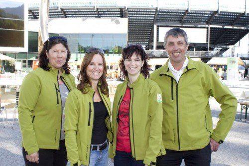 Die Organisatoren: Ruth Wechner, GF Sabine Mayr, Sabine Wiedenbauer und OM Hubert Hehle (Bio Austria Vlbg.). Fotos: Franc