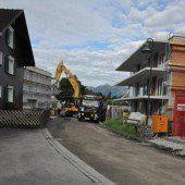 Bauarbeiten in Zwischenwasser gestartet
