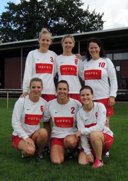 Die siegreichen Schwarzacher Frauen in der Mixedklasse. privat