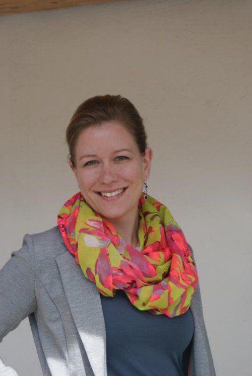 Die studierte Kommunikationsfachfrau Sandra Feurstein hat sich 2011 mit ihrer Agentur commA7 selbständig gemacht.