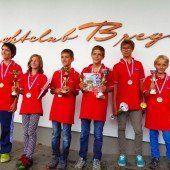 Titelkämpfe der Jüngsten
