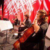 Klangvoll: Christoph Eberle und seine Kinder