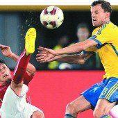 ÖFB-Team startet EM-Quali mit 1:1 gegen Schweden