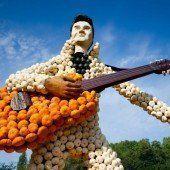 Kürbis-Elvis lockt Besucher