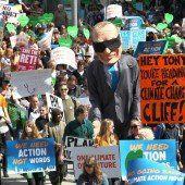 Weltweite Aktion für Klimaschutz
