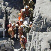 Dutzende Vulkan-Tote in Japan befürchtet