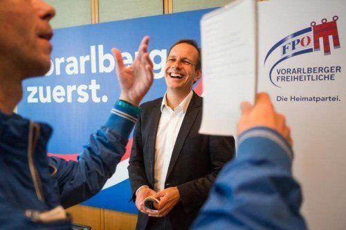 feature, alndtagswahl, landtagswahlen, Wahlkampfabschluss FPÖ, FPOE, Dieter Egger