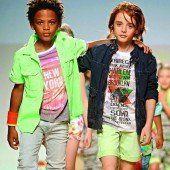 Die Kids zeigen die Laufsteg-Trends