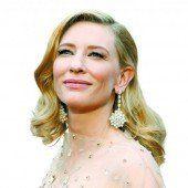 Cate Blanchett besucht Zürich