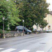 Eine etwas seltsame Parkvariante