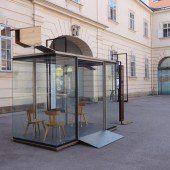 Bushaus aus Krumbach nun in Wien