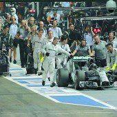 Nico Rosberg von einem Elektronik-Problem gestoppt